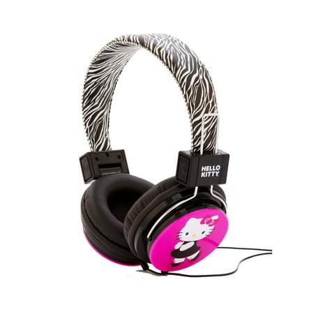 Zebra Kitty (Hello Kitty HK-ZEB-WM Headphones with Zebra Design )