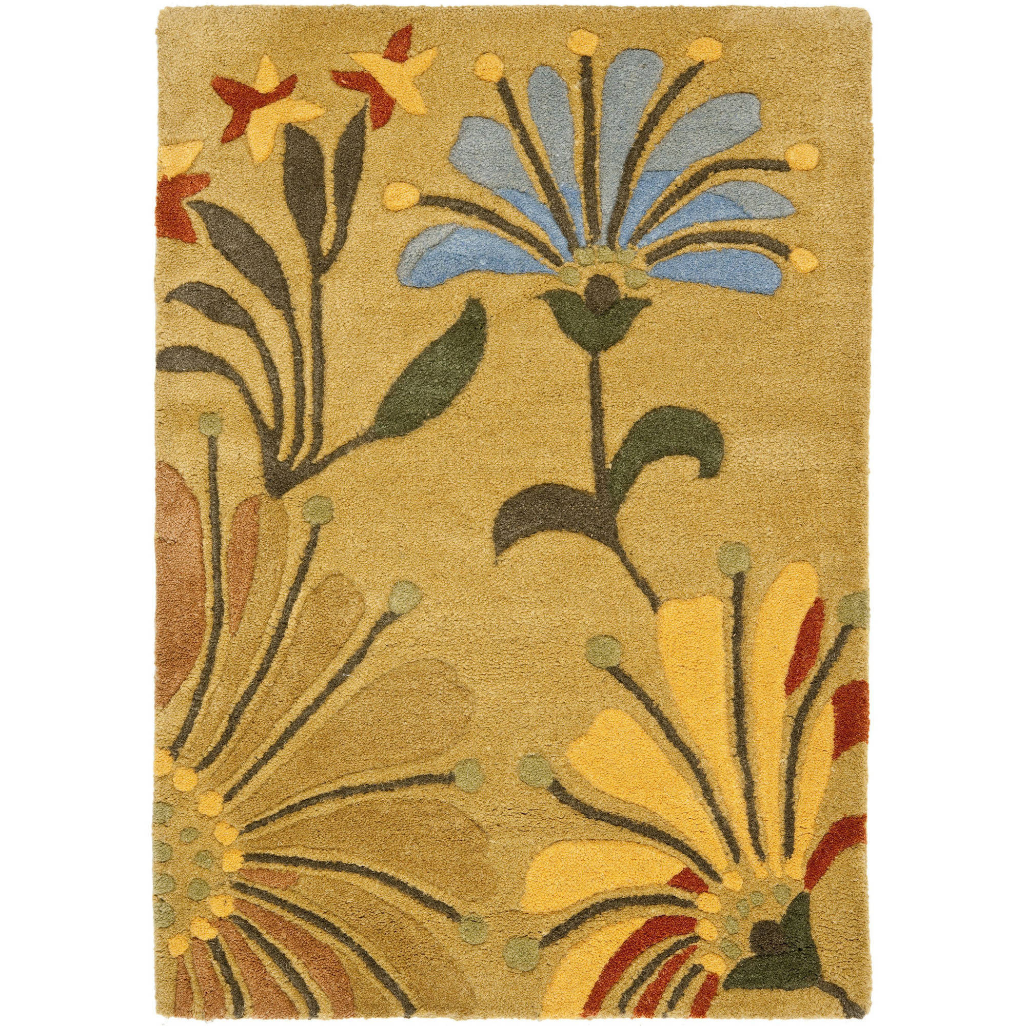 Safavieh Soho Gibson Wool Area Rug, Golden Olive