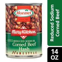 Canned Meat & Seafood: Hormel Mary Kitchen Reduced Sodium Corned Beef Hash