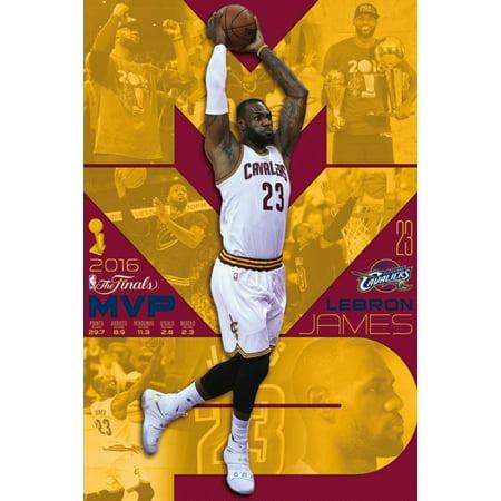 2016 NBA Finals - MVP Poster Poster (Nba Mvp Coin)