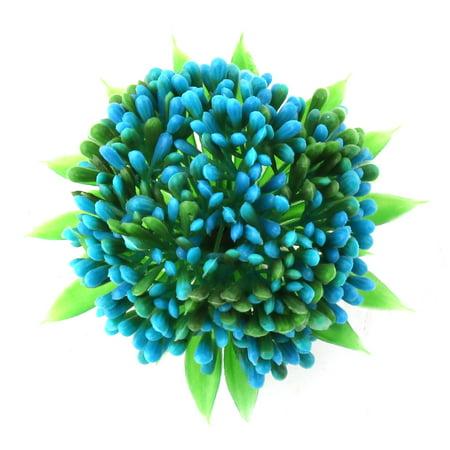 Aquarium Tank Plastic Artificial Decor Emulation Plants Assorted Color 3 in 1 - image 1 de 4
