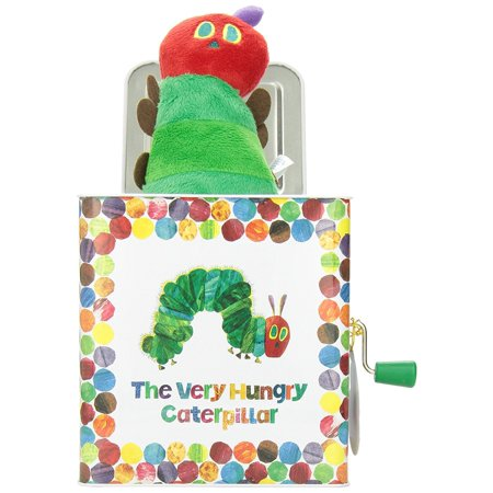 World of Eric Carle, The Very Hungry Caterpillar Jack in the Box - Halloween Jack In The Box Head