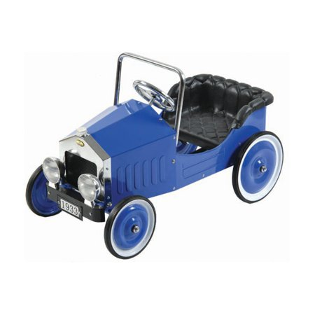 blue voiture pedal car. Black Bedroom Furniture Sets. Home Design Ideas