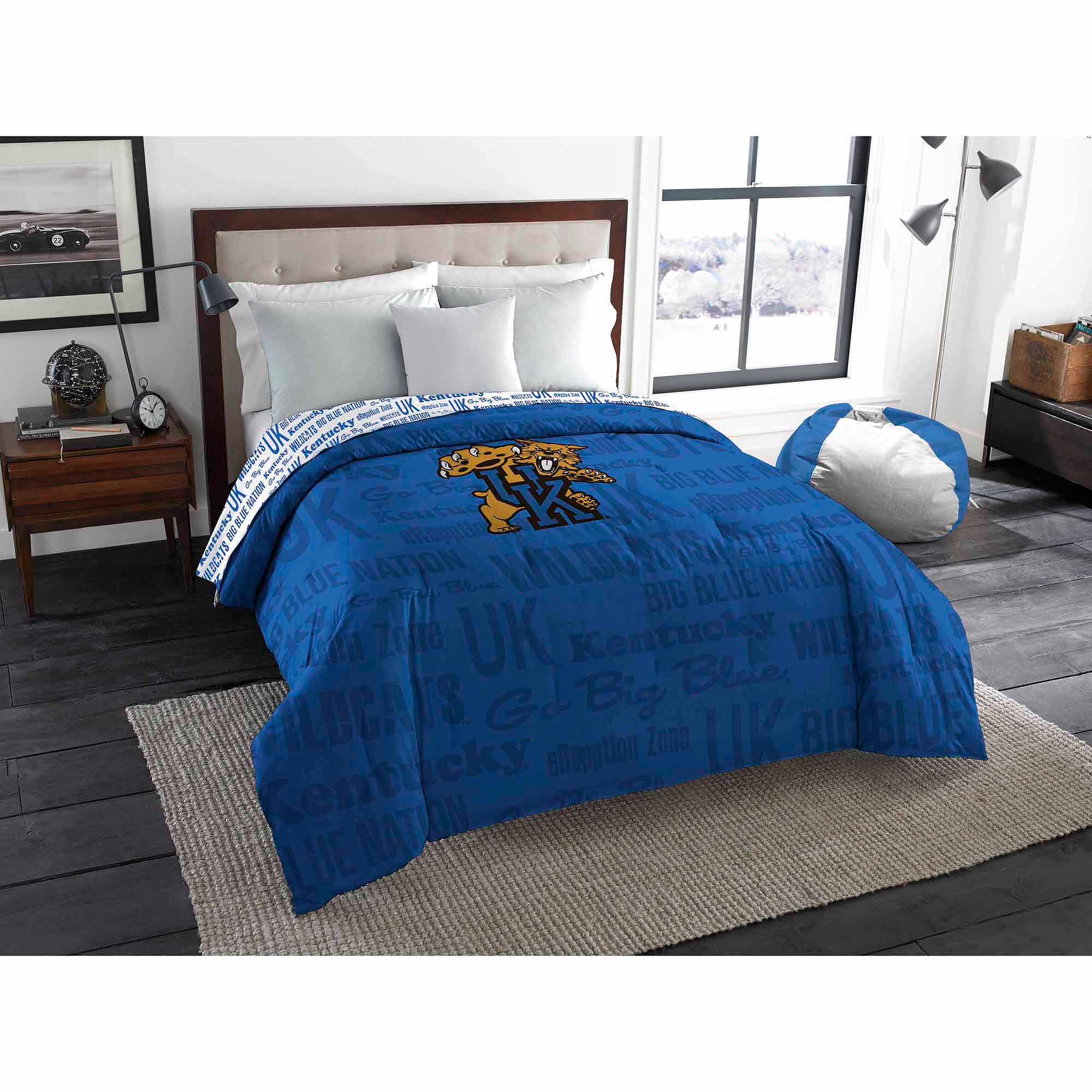 NCAA Kentucky Wildcats Twin/Full Bedding Comforter