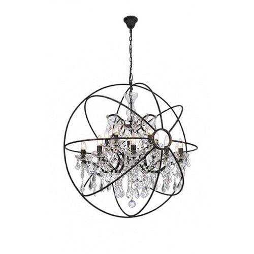 Gracie Oaks Belden 15 Light Globe Chandelier