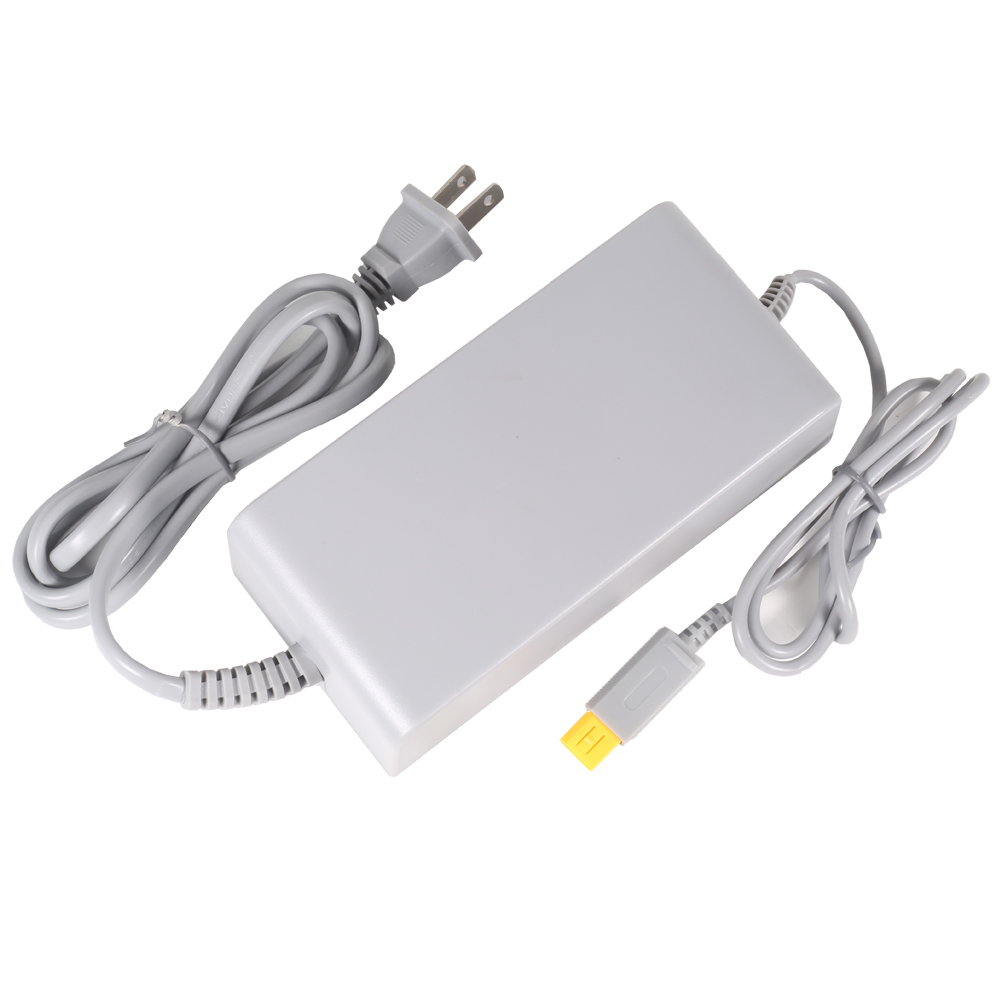 Fosmon Nintendo Wii U Console Power Supply AC Charger Adapter (Input: AC 100-240V, Output: DC ...