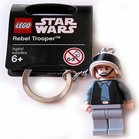 LEGO Star Wars Rebel Trooper Minifigure Key Chain 852348