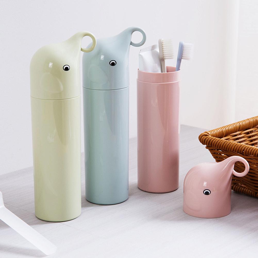 Moderna Portable Travel Toothbrush Toothpaste Holder Case Box Organizer Storage Cup