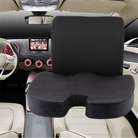 Portable Comfortable Home Office Seat Cushion Memory Foam Car Chairs Seats Massage Back Pain Relief