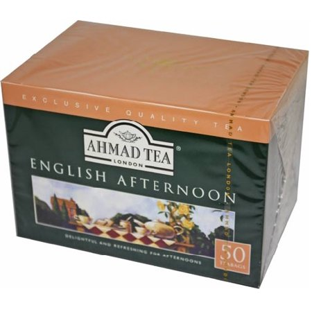 Ahmad Tea English Afternoon Tea - Box of 50 Tagless Tea