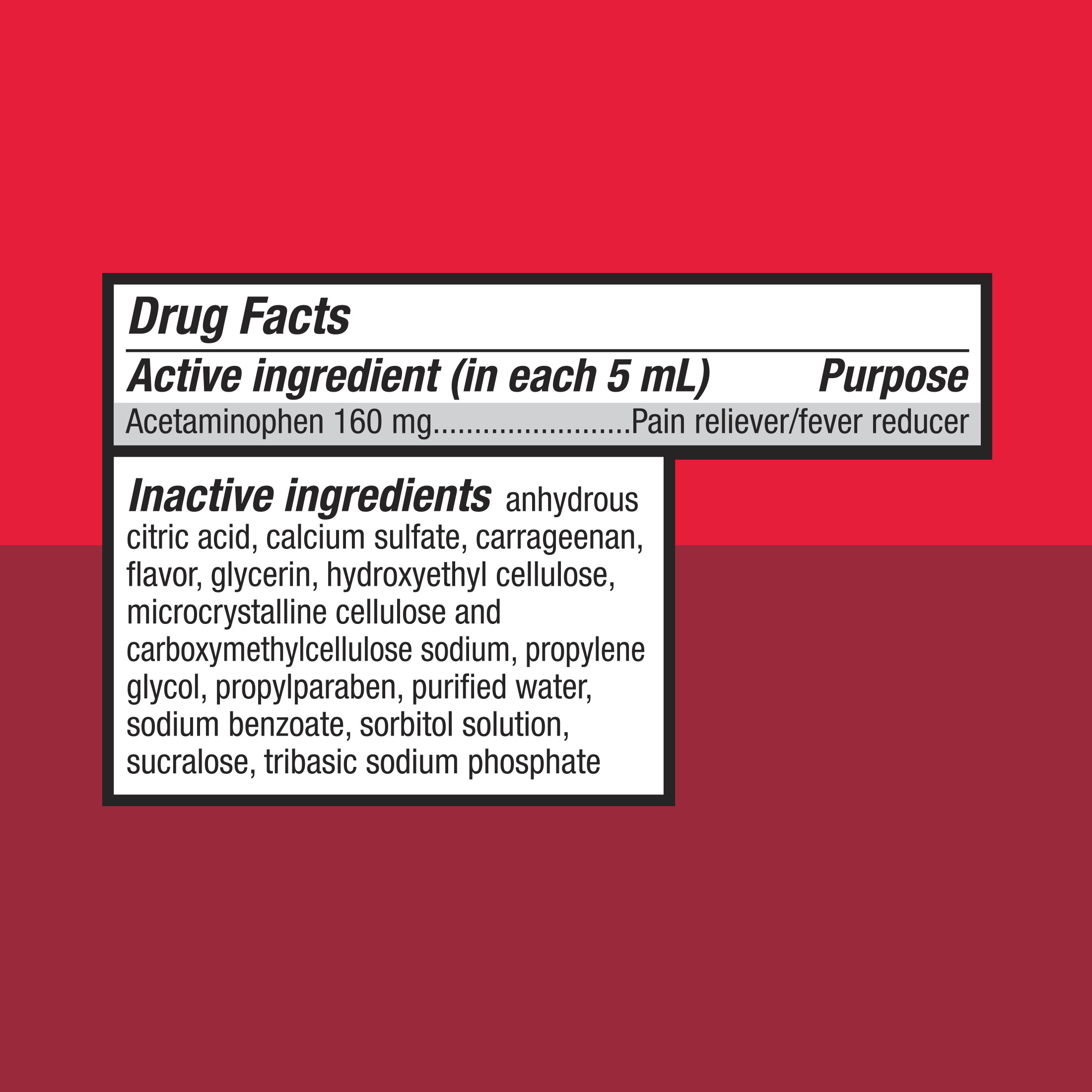 Equate infants acetaminophen cherry suspension 160 mg walmart nvjuhfo Image collections
