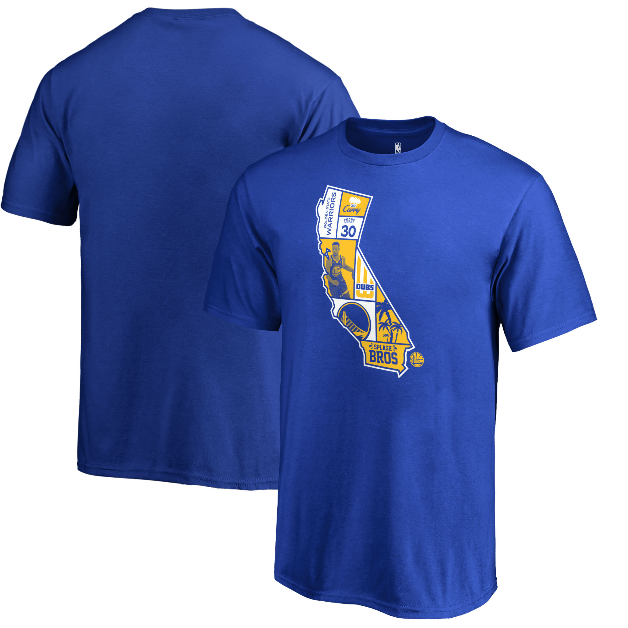 Stephen Curry Golden State Warriors Fanatics Branded Youth Player State T-Shirt - Royal