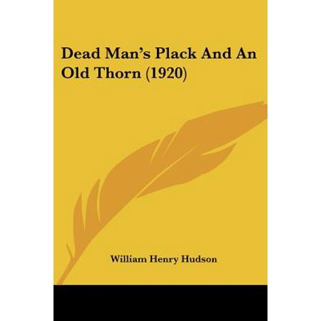 Dead Man's Plack and an Old Thorn - 1920 Wigs