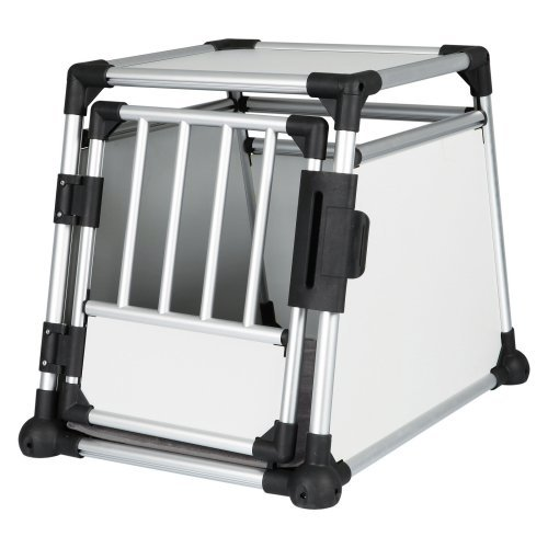 TRIXIE Scratch-Reistant Metallic Dog Crate