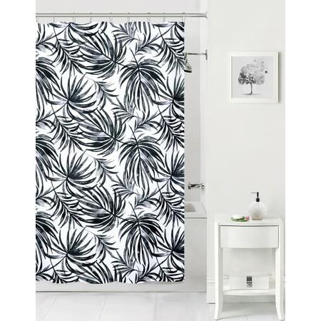Mainstays Tropical Leaf Shower Curtain ()