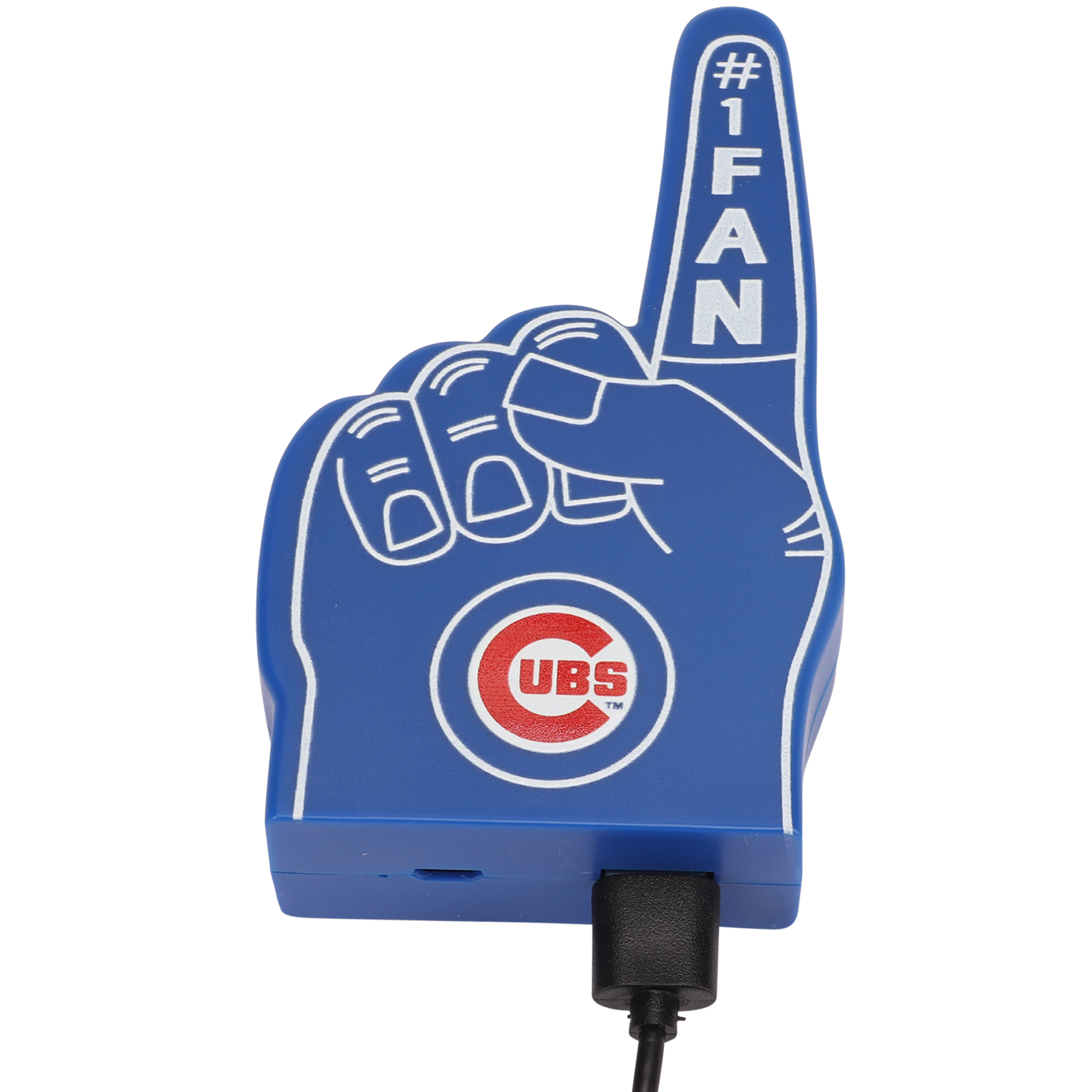 Chicago Cubs #1 Fan Finger Power Bank - No Size