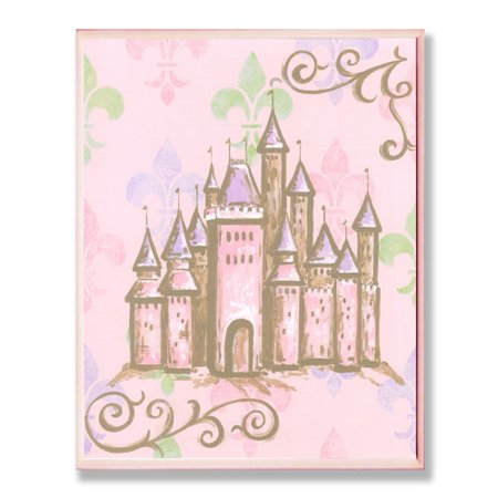 Stupell Industries The Kids Room Castle Rec Wall Plaque