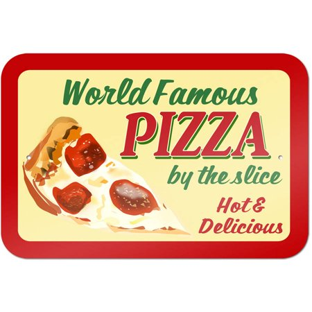 Pizza By the Slice Sign ()