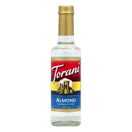 Almonds Syrup (Torani Almond Flavoring Syrup, 12.7 OZ (Pack of 4))