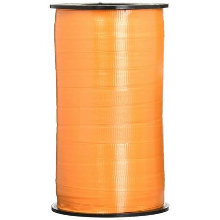 3 11 3 11 3/8-Inch Wide by 250 Yard Spool Super Curl Crimped Splendorette Curling Ribbon, Tropical Orange, 3/8-inch wide ribbon by 250 yard spool By Berwick