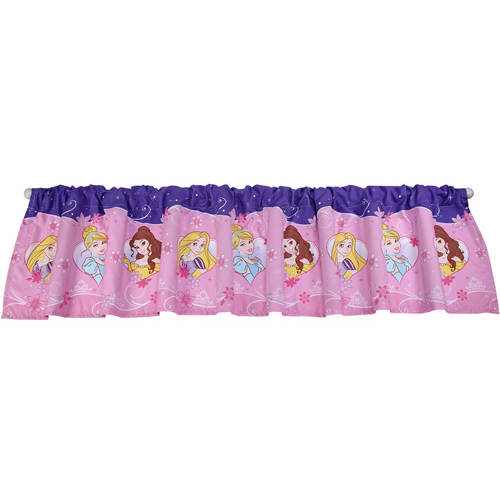 Disney Princess Girls Bedroom Curtain Valance