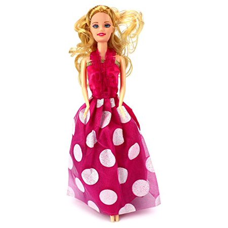 Beautiful Princess Children's Kid's Toy Doll Playset w/ 9 Different Dress Outfits, Princess Doll, Accessories](Deadpool Different Outfits)