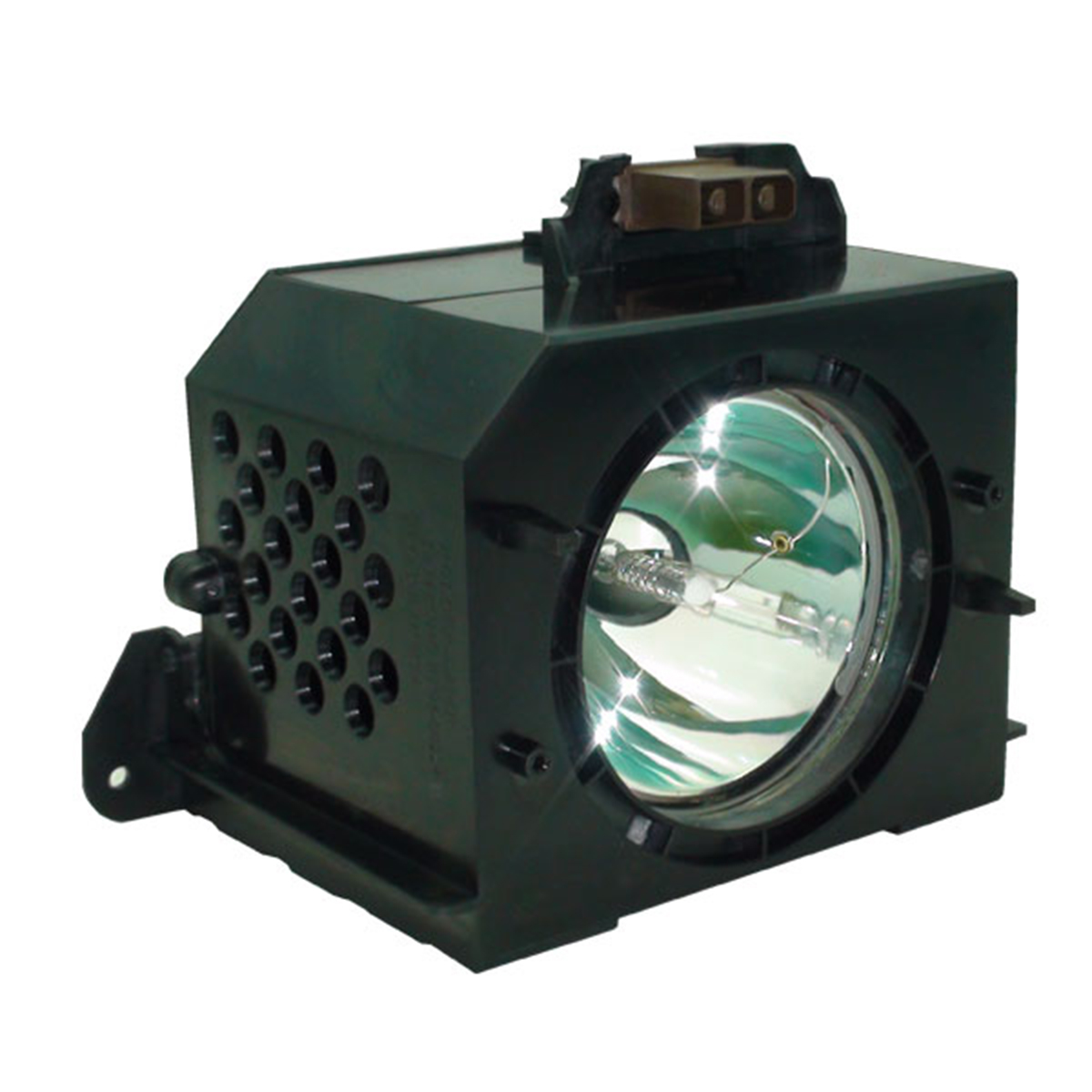 Lutema Platinum for Samsung HLN437W1X TV Lamp with Housing (Original Philips Bulb Inside) - image 2 of 5