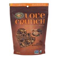 Nature's Path Love Crunch Organic Granola, Dark Chocolate & Peanut Butter, 11.5 Oz