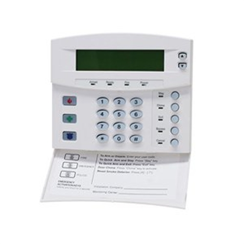 GE 192-ZONE LCD KEYPAD W/SWINGDWN REMOVABLE DOOR,WHITE NX-148E