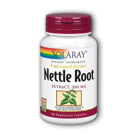 Solaray Nettle Root Extract 300 mg - 60 Capsules