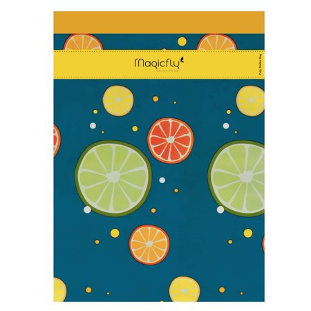 Poly Mailers 10X13, Magicfly 100 Pack Fruit Designer Shipping Bag, Self Seal Adhesive Envelope Mailer Bag, Boutique Custom Bag for Halloween Xmas Gift - Halloween Overnight Shipping