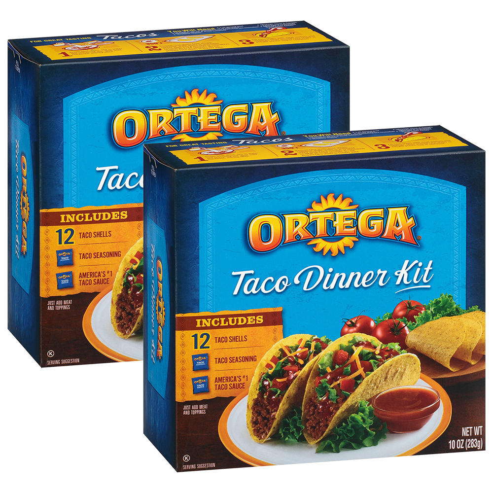 Ortega Taco Dinner Kit, 10 oz