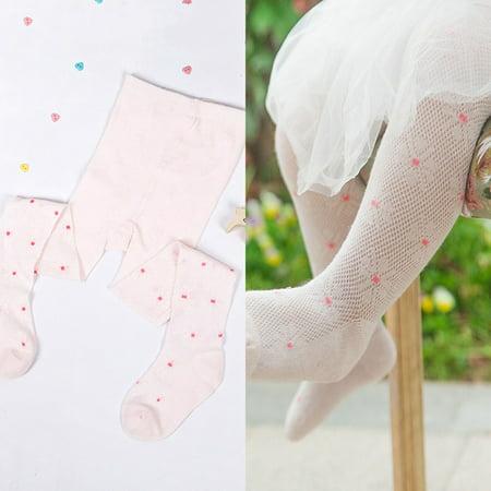 KABOER Children Stockings Girls Tights Summer Mesh Pantyhose Mosquito Socks Soft 2-6 Years