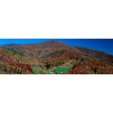 (Maggie Valley Great Smokey National Park North Carolina Stretched Canvas - Panoramic Images (36 x 12))