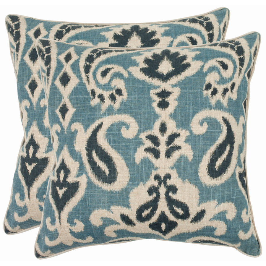 Safavieh Dylan Pillow Multiple Colors Set Of 2 Walmart Com Walmart Com