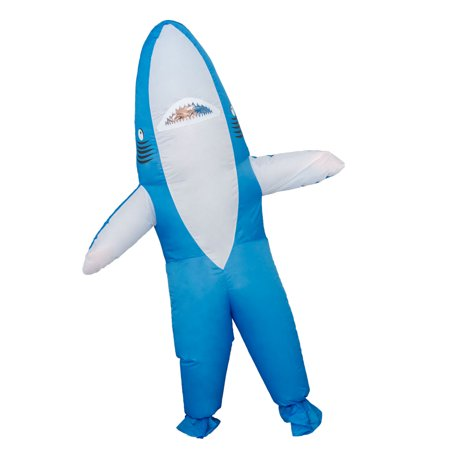 Shark Inflatable Halloween Costume Cosplay Jumpsuit - Cosplay Halloween Costume