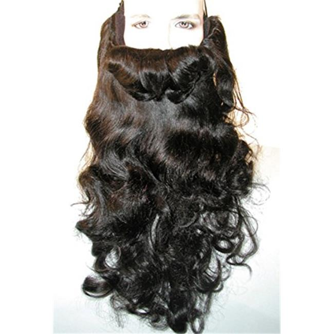 Beard Curly Wig - White - image 1 de 1