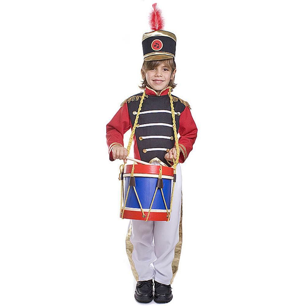COLONIAL GIRL PLAYING DRUM Dollhouse Picture MADE IN AMERICA FAST DELIVERY