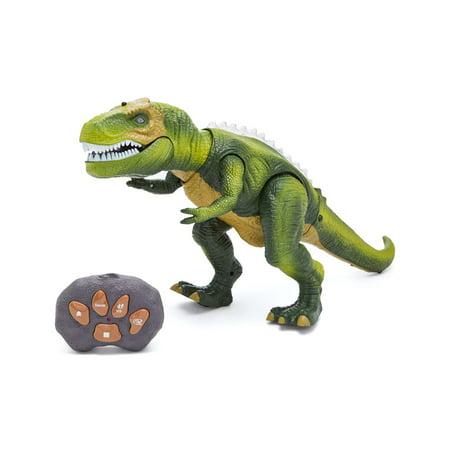 T-Rex Dinosaur Infrared RC Toy w/lights sound music (Animal Planet Radio Control T Rex Dinosaur)
