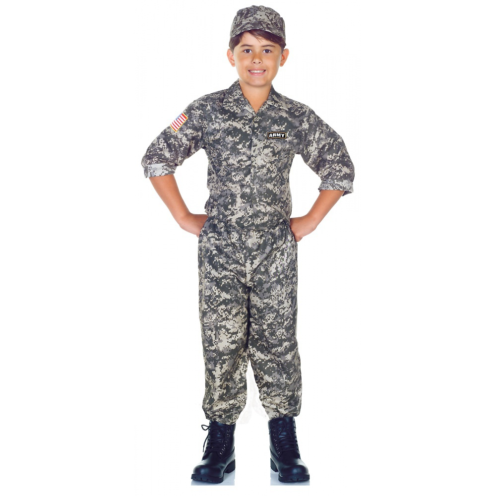 US Army Child Costume - X-Large