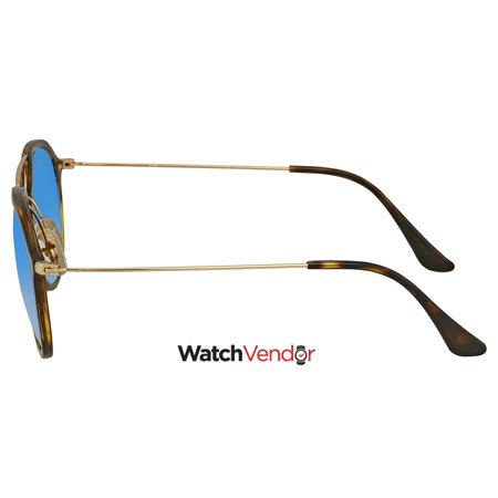 83a4e935e4c25 Ray Ban Blue Gradient Round Sunglasses RB4253 710 8B 53 - image 1 of 3 ...