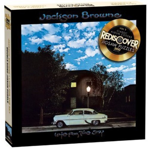 "Jackson Browne ""Late For The Sky"" Jigsaw Puzzle, 300 Pieces"