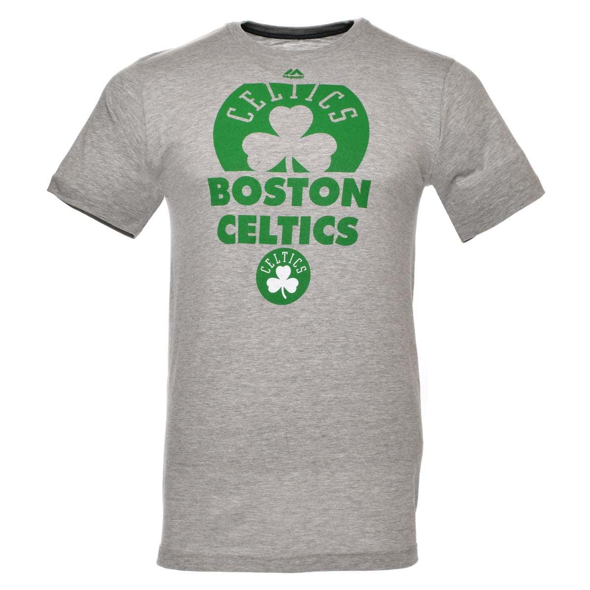 Boston Celtics NBA March To Victory Tee (Gray) by NBA Properties