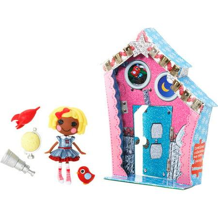 Mini Lalaloopsy Doll, Dot Starlight (Lala Loopsy)
