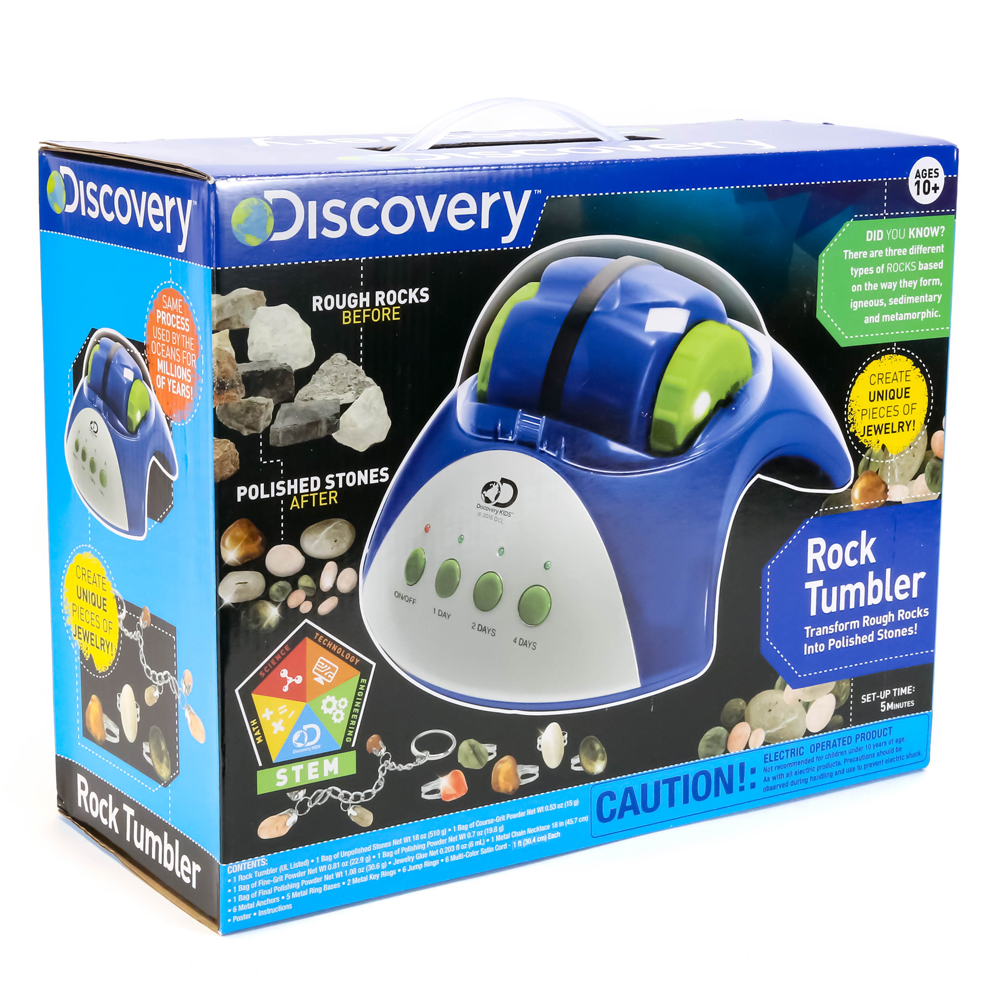 Discovery Rock Tumbler Walmart
