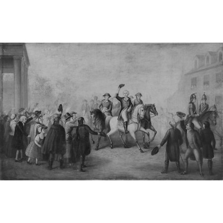 Triumphal Entry - Washingtons Triumphal Entry into New York Poster Print (18 x 24)