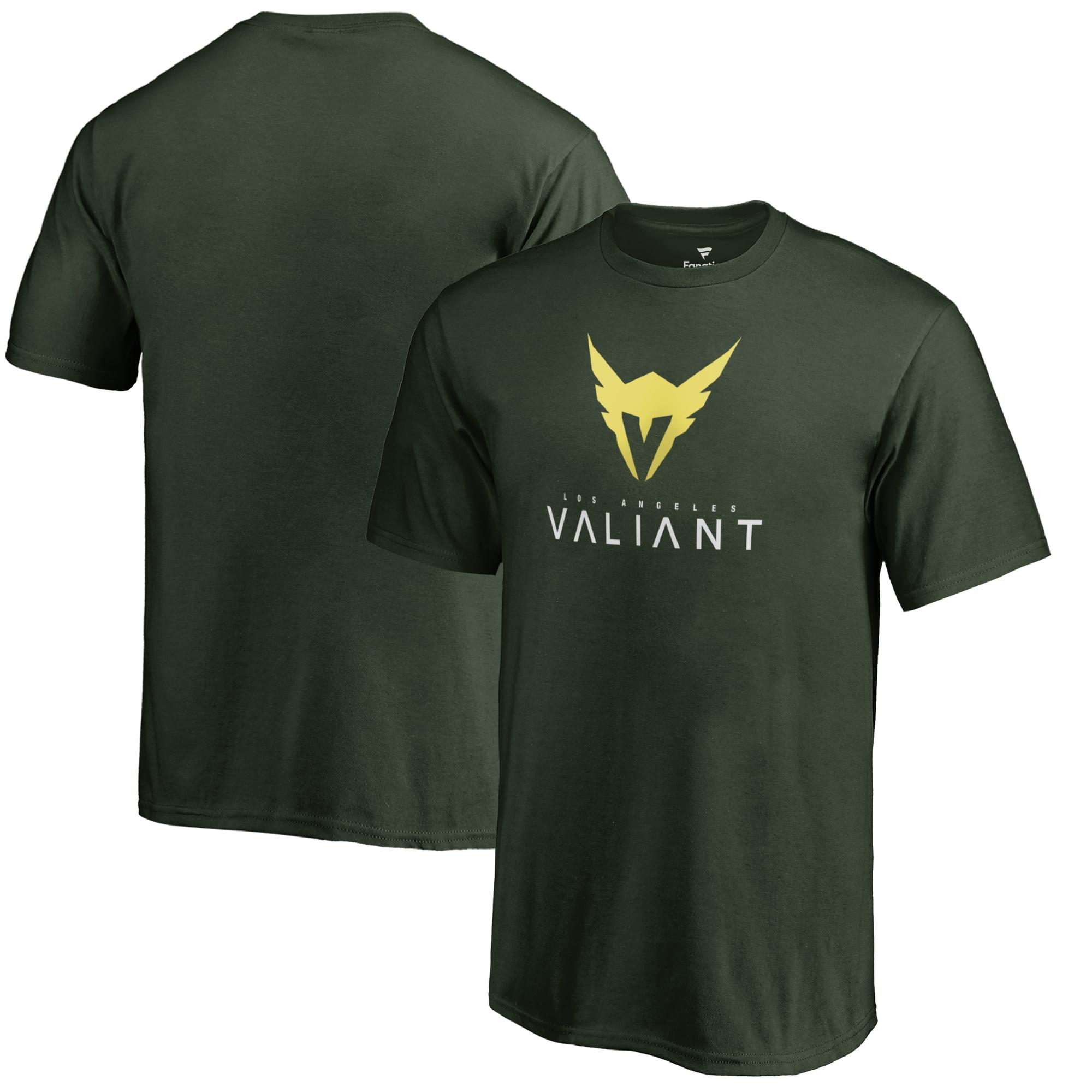 Los Angeles Valiant Fanatics Branded Youth Team Identity T-Shirt - Green