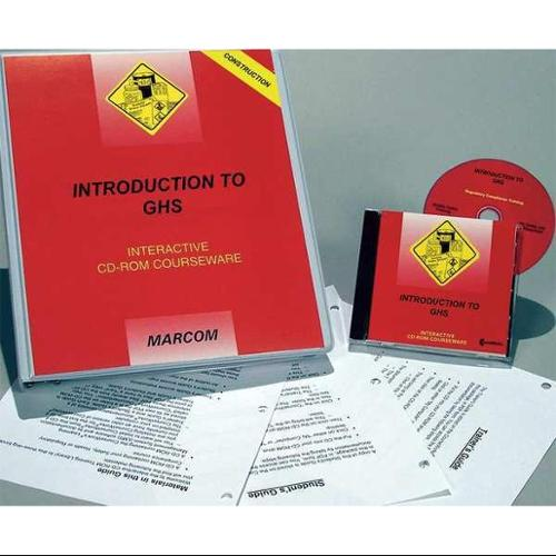 MARCOM C0001590ED Intro to GHS, Construction, CD-ROM