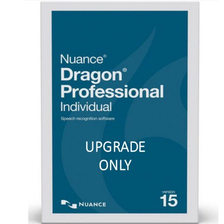Nuance SN-K890A-R00-15.0 Dragon Professional Individual Version 15 Upgrade from Premium 13 or 14 - Upgrade Only Electronic Download