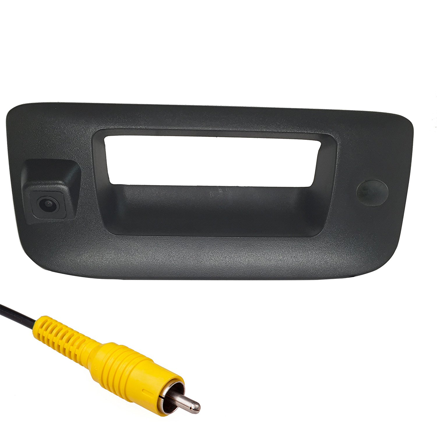 Master Tailgaters Chevrolet Silverado/GMC Sierra 2007-2013 BLACK Tailgate Backup Reverse Handle with Camera WITH Key Hole Plug